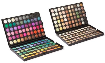 1, 2 ou 3 palettes de 120 ombres à paupières, teintes pour lété ou teintes naturelles