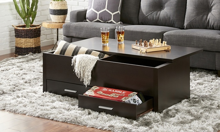 Storage Centre Table ... & Up To 50% Off Storage Centre Table | Groupon