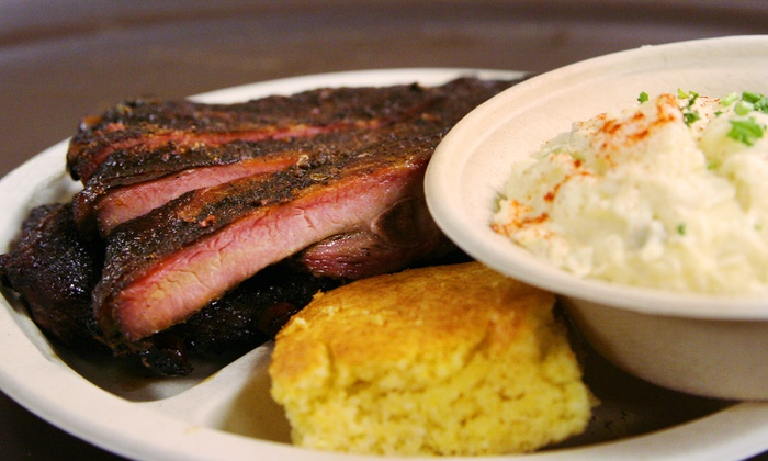 Pat's Barbecue - South Salt Lake City: Ribs, Pulled Pork, and Brisket at Pat's Barbecue (Up to 33% Off). Two Options Available.