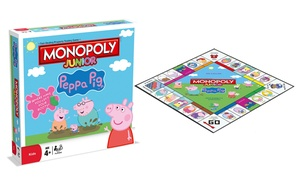 Monopoly Junior édition Peppa Pig