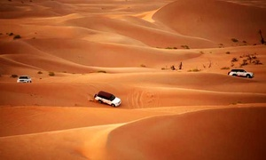 Travel Guide Tourism: RAK Desert Safari with Centralised or VIP Doorstep Pick-Up and Drop-Off at Travel Guide Tourism (Up to 66% Off)