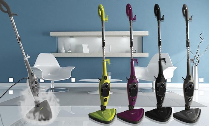 10-in-1 Clean'Up Dampfreiniger in der Farbe nach Wahl, optional mit Mikrofaser-Pads (bis zu 65% sparen*)