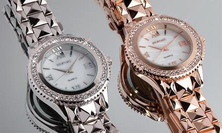 Damen-Armbanduhr Faulkner veredelt mit Kristallen vonSwarovski® inkl. Versand (Munchen)