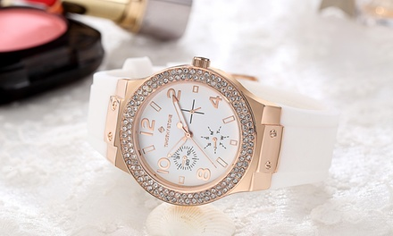 Timothy Stone Facon Silicone Womens Watch