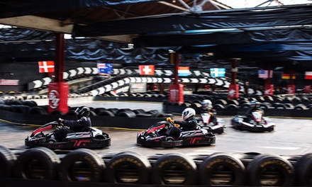 Karting Package: 50 Laps with Membership For One, Two or Four at Cannon Raceway