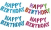 Inflatable New Styles Happy Birthday Balloon with String and Straw