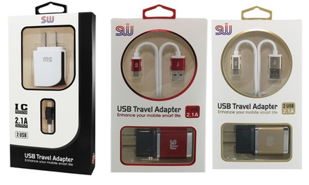 Travel Charger for Micro USB at Ibex Electronics