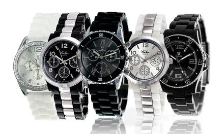 Reloj para mujer con cristales de Bohemia