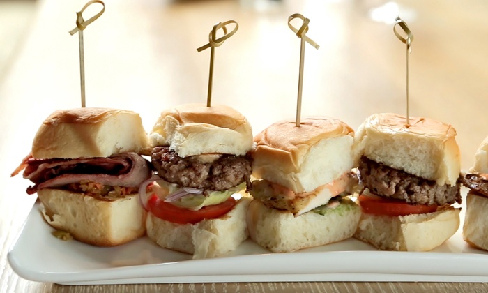 Reverie - River North: Burgers for $6 each at Reverie at Reverie