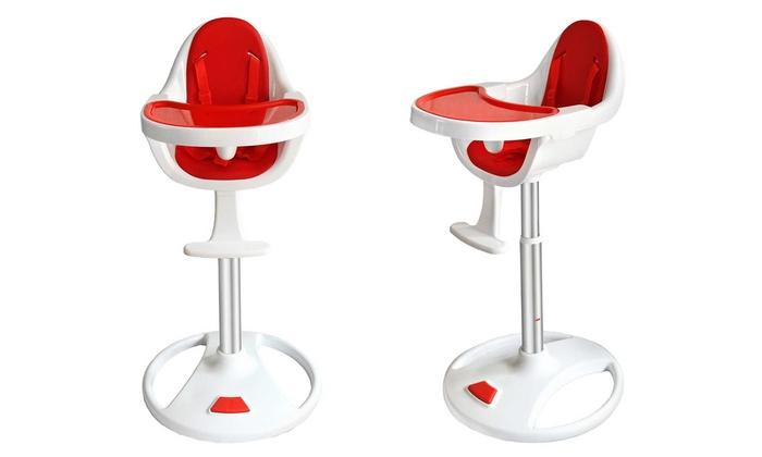 chaise haute bebe pivotante