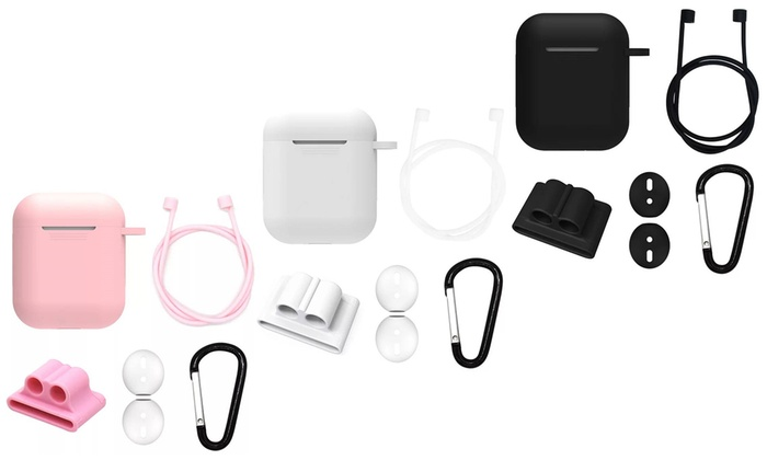 Airpods Case Cover Set 5 Piece Groupon