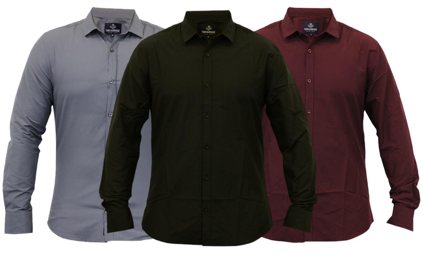 Threadbare Men's Formal Shirt