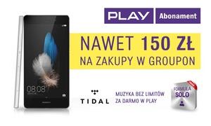 Play: Nawet 150 zł na zakupy w Groupon przy podpisaniu umowy w formule SOLO i zakupie kuponu za 5 zł