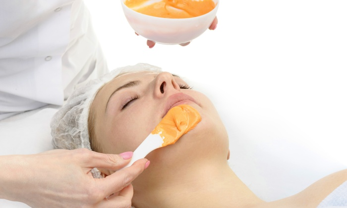 SpaLenza At The Mansion - West Peabody: One or Two Pumpkin Mini Facials with 20% Off Products at SpaLenza At The Mansion (Up to 43% Off)