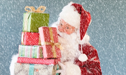Christmas Breakfast with Santa for Child, Adult or Family of Three at Hardwicke Hall Manor Hotel