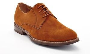 Franco Vanucci Men's Microsuede Oxford Shoes (Sizes 7.5 & 8)