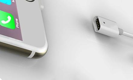 Cable magnético 2 en 1 para iPhone y Android
