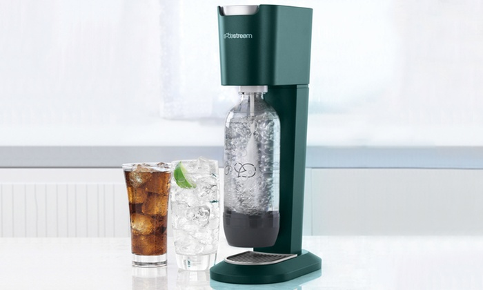 sodastream genesis home soda maker kit 3 piece groupon. Black Bedroom Furniture Sets. Home Design Ideas