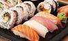 Bo Sushi - Lyon: Plateau de 32 pièces de spécialités japonaises avec dessert de 6 pièces pour 2 personnes à 29,90€ au restaurant Bo Sushi