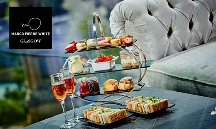 Afternoon Tea with Optional Prosecco for Two at Marco Pierre White Steakhouse and Grill