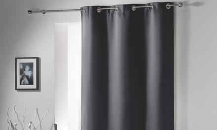 Douceur DIinterieur 1x, 2x oder 4x Vorhang zur Raumverdunkelung mit Metallösen in der Farbe nach Wahl