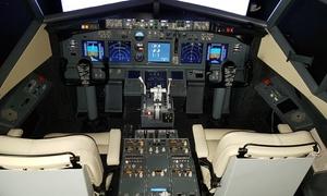 Simulatore di Volo: Simulatore di volo in Boeing 737NG da una o 2 ore con Sim Power Fly (sconto fino a 55%)
