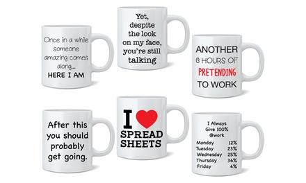Novelty Print Mugs