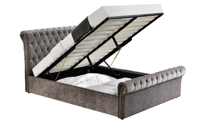Chesterfield Ottoman Bed Groupon