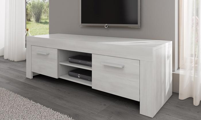 Tv Meubel Afmetingen : Houten tv meubel groupon goods