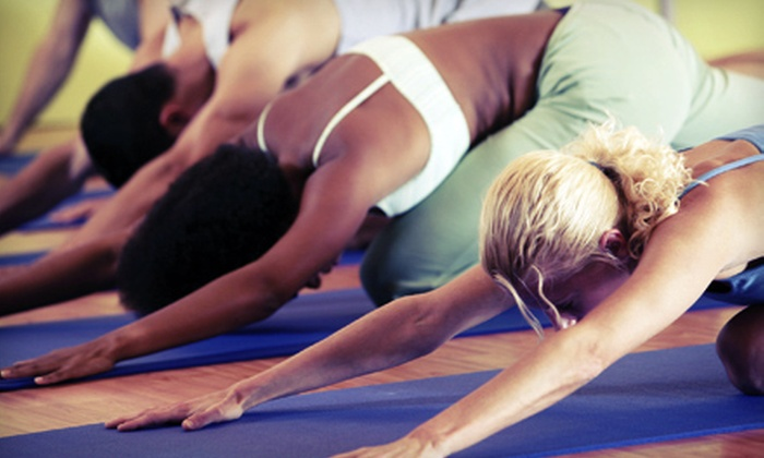 Yoga Sanctuary - Multiple Locations: Eight Classes or 30 Days of Unlimited Classes at Yoga Sanctuary (Up to 78% Off)