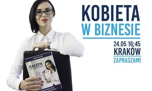 """Motiwator: 86 zł: bilet dla 1 osoby na szkolenie """"Kobieta w biznesie"""" – 3 miasta"""