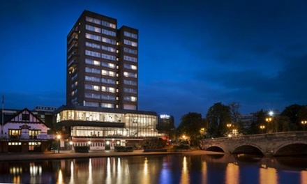 Bedfordshire: Up to 2 Nights for Two with Breakfast, Wine and Optional 2-Course Dinner at Park Inn by Radisson Bedford