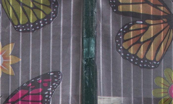 ... Magnetic Heavy Duty Mesh Screen Door: Magnetic Heavy Duty Mesh Screen  Door