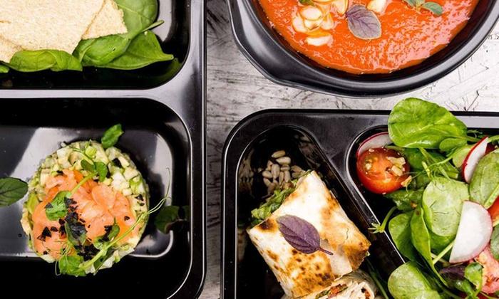 Catering dietetyczny z dostawą, 5 posiłków przez 3 dni od 103,99 zł i więcej opcji w Dzień Dobry Catering