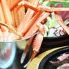 大阪府/香里園 ≪紅ズワイガニのバケツ盛り・厚切りステーキなど9品+飲み放題120分≫