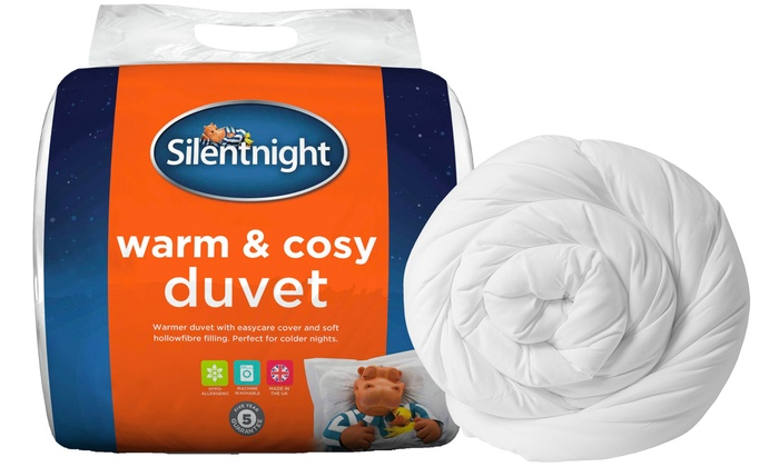 Silentnight Warm and Cosy 15 Tog Duvet from £16.99