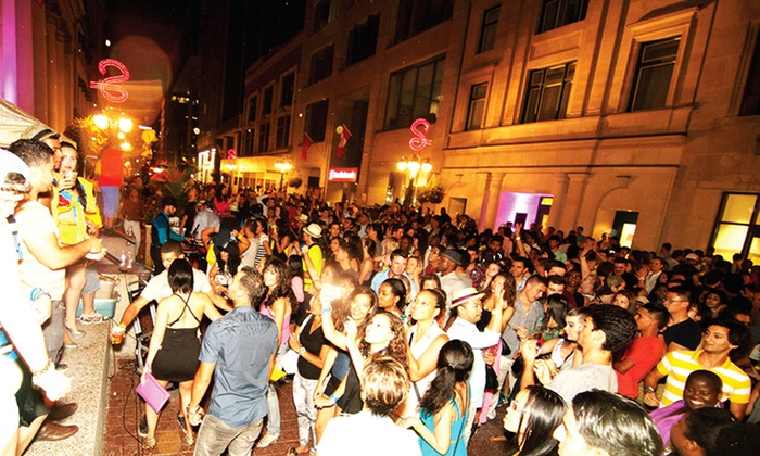 The International - Sparks Street: C$12 for Latin Sparks Finale Dance Party from The International on Saturday, September 20 (C$20 Value)