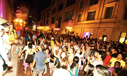 Latin Sparks 3 Dance Party for Two on July 26 (Up to 40% Off)