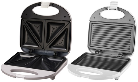 Sandwichera triangular o tipo grill de 750w