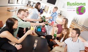Grupo Ilusiona: 3 partidas de bolos para 2 o 4 personas desde 19,95 € en 11 centros Grupo Ilusiona