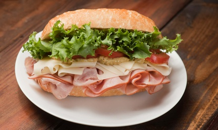 Deli Food at Mr. Pickle's Sandwich Shop (50% Off). Two Options Available.