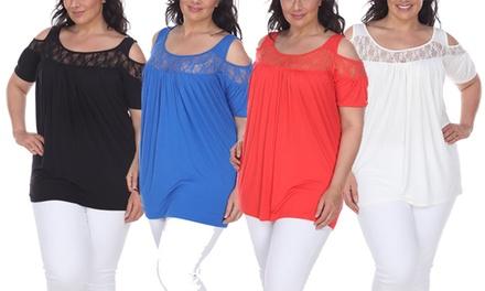 Bexley Women's Tunic in Plus Size