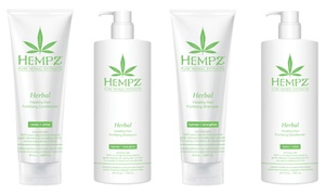 Hempz Herbal Healthy Hair Shampoo or Conditioner (9 or 25.4 Fl. Oz.)