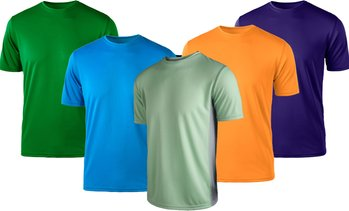 Zorrel Men's Active Performance T-Shirts (XS-3XL)