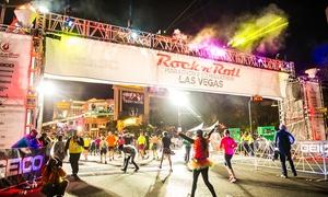 Rock 'n' Roll Las Vegas Marathon & ½ Marathon: Rock 'n' Roll Las Vegas Marathon & 1/2 Marathon: 5K, 10K, 1/2 Marathon, or Marathon on November 12 or 13