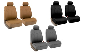 Half-Set Rome PU Leather Front Seat Covers