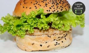 Hamburgueria Caiçara: Hamburgueria Caiçara – Caiçara: 2 hambúrgueres e 2 refrigerantes