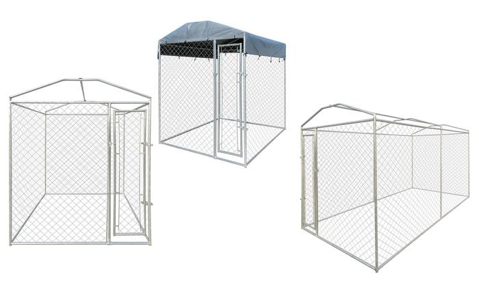 chenil ext rieur pour chien groupon shopping. Black Bedroom Furniture Sets. Home Design Ideas
