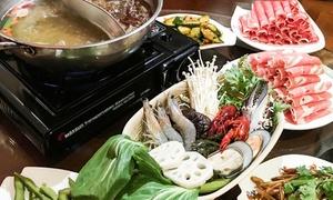 Chens Wok: Chinesisches All-you-can-eat-Fondue-Buffet für 2 oder 4 Personen bei Chens Wok (bis zu 21% sparen*)