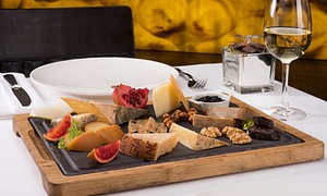 Oolong Flower Power: Cheese Board and a Bottle of Wine for Two at Oolong Flower Power (46% Off)